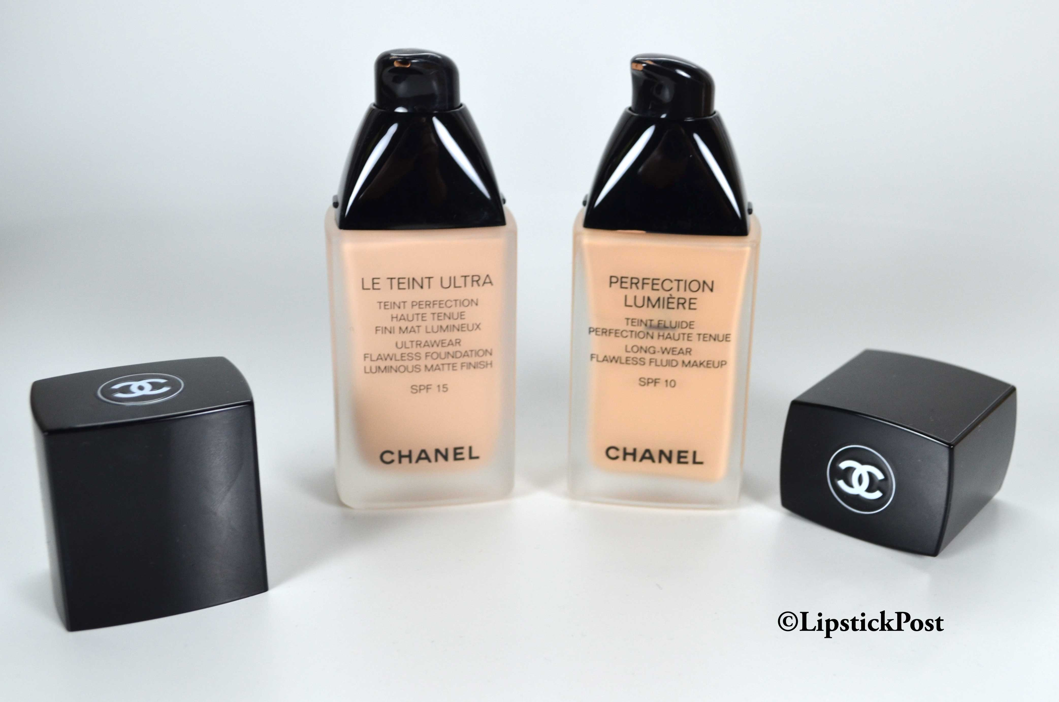 d3a394dc57 Chanel-Le-Teint-Ultra-vs-Perfection-Lumiere - LipstickPost